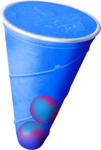 Two-Ball Screwball™ Blue Raspberry