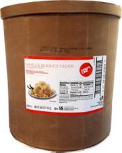 3 gallon Super Premium Vanilla Bean Ice Cream 15%