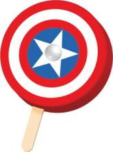 Avengers Captain America Bar
