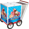 customer pickup ice cream cart