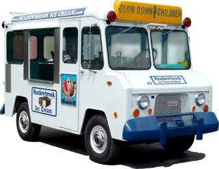 classic full-service ice cream truck